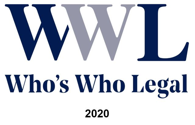 Reconocimiento Who's Who Legal 2020