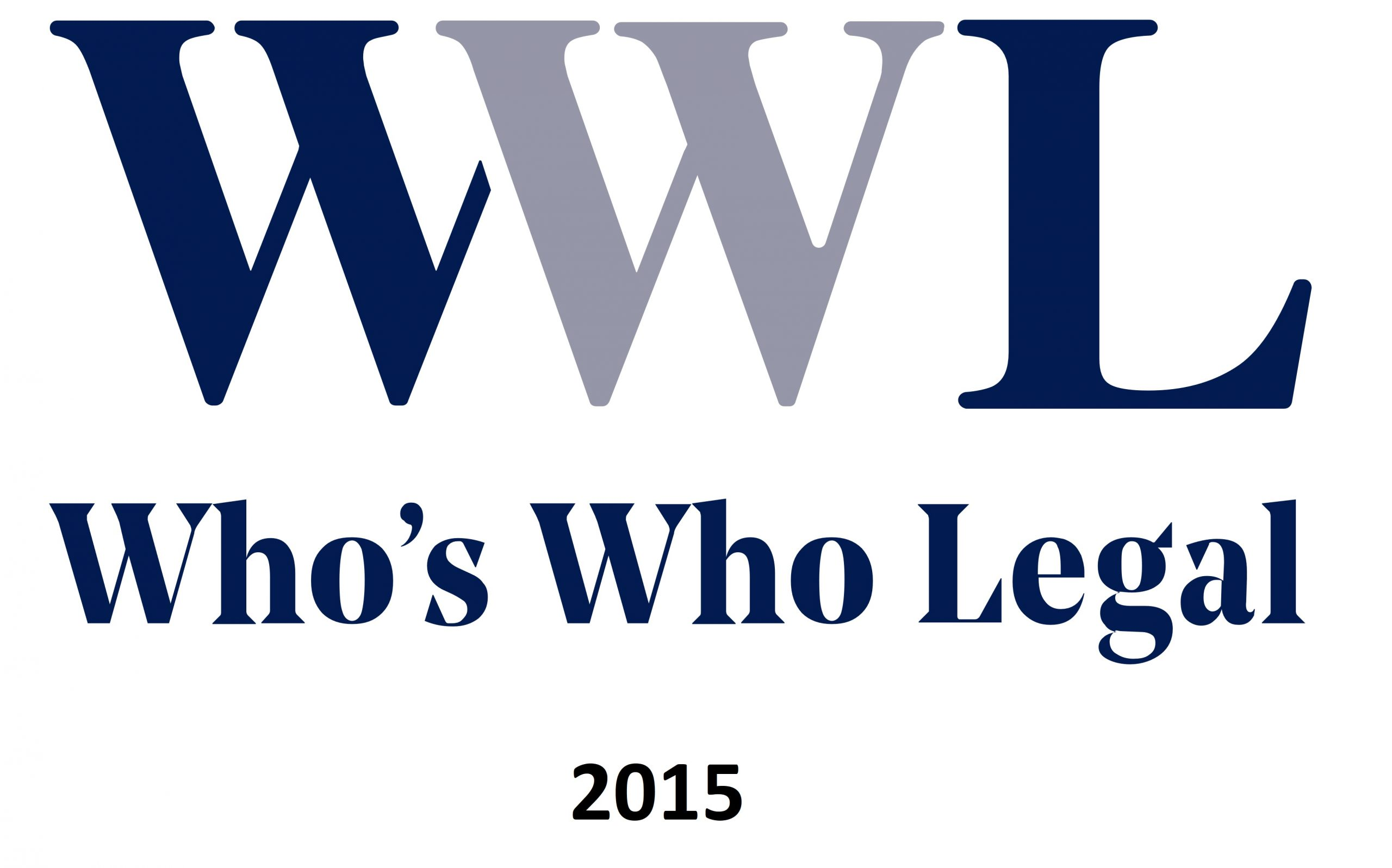 Reconocimiento Who's Who Legal 2015