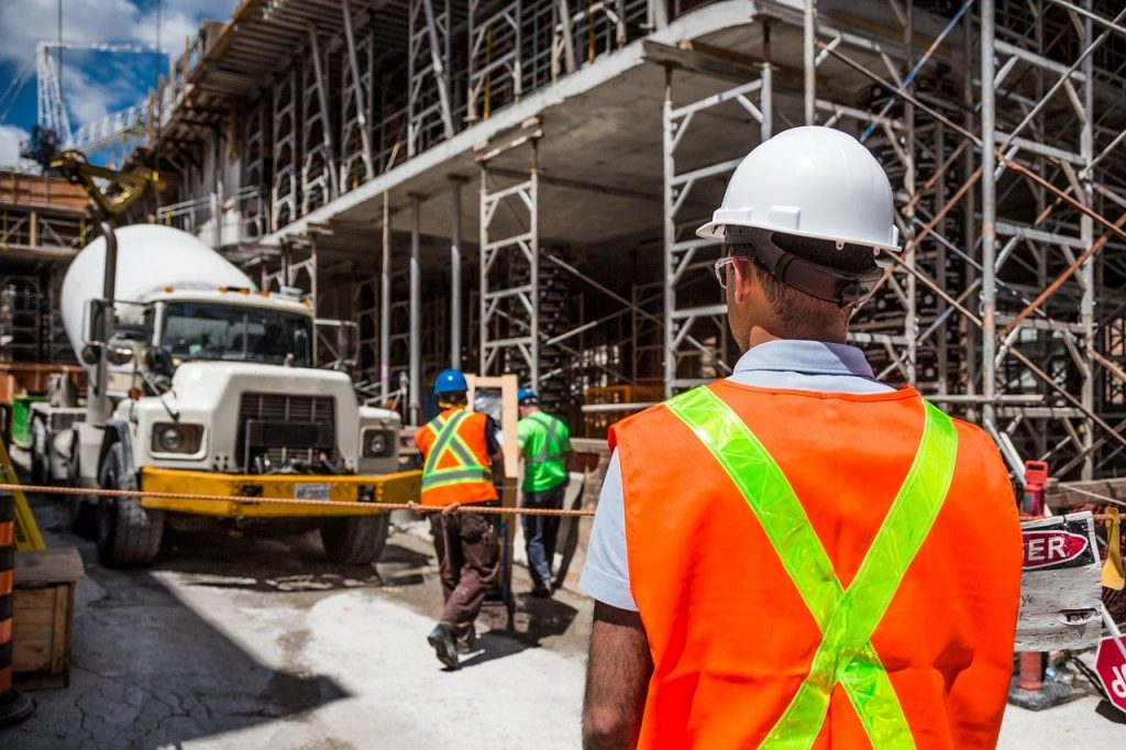 construction, worker, safety